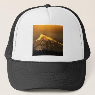 Park Golden Peaks Of Rundle Ain Banff Alberta Trucker Hat