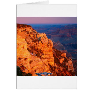 Park Grand Canyon At Sunrise Mather Point Card