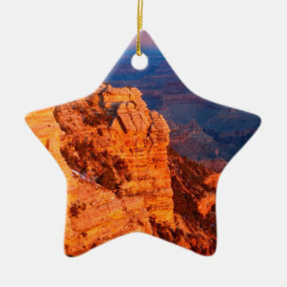 Park Grand Canyon At Sunrise Mather Point Ceramic Ornament
