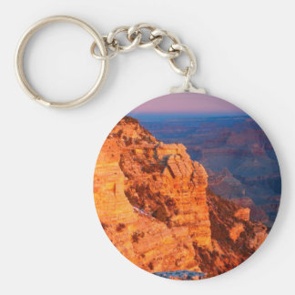 Park Grand Canyon At Sunrise Mather Point Keychain
