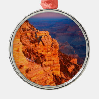 Park Grand Canyon At Sunrise Mather Point Metal Ornament