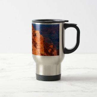 Park Grand Canyon At Sunrise Mather Point Travel Mug