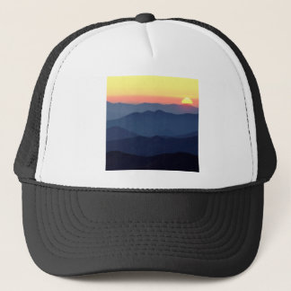 Park Great Ains At Sunset Tennessee Trucker Hat