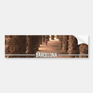 Park Guell Barcelona - Antoni Gaudi Bumper Sticker