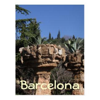 Park Güell, Barcelona Post Card