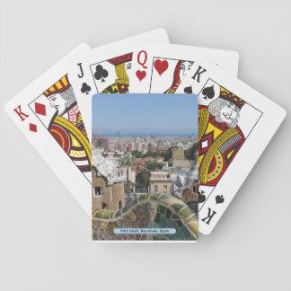 Park Güell, Barcelona, Spain Playing Cards