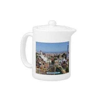 Park Güell, Barcelona, Spain Teapot