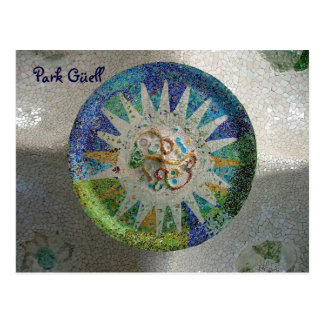 Park Güell - Customized Postcard