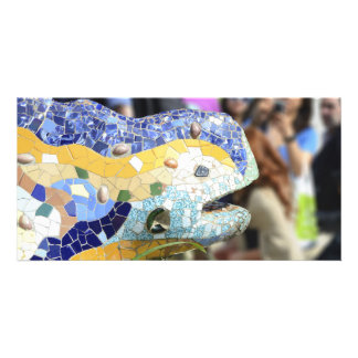 Park Guell dragon Photo Card