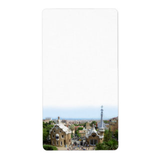 Park Guell Label