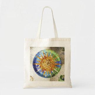 Park Guell mosaics Bag