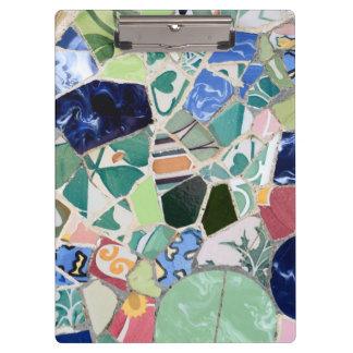 Park Guell mosaics Clipboard