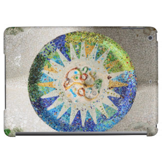 Park Guell mosaics Cover For iPad Air