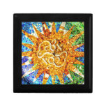 Park Guell mosaics giftbox Jewelry Box