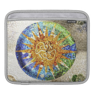 Park Guell mosaics Sleeves For iPads