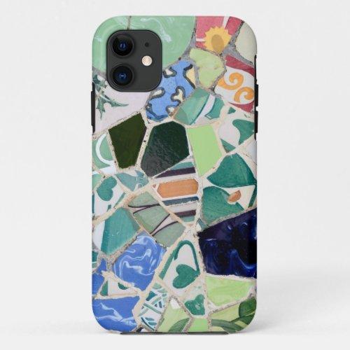 Park Guell mosaics iPhone 5 Case Phone Case