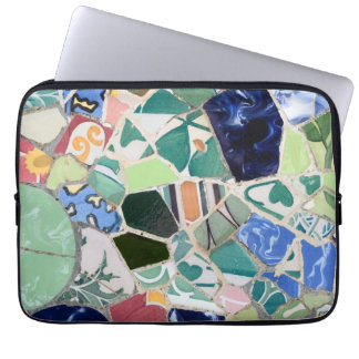 Park Guell mosaics Laptop Sleeves