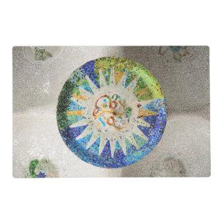 Park Guell mosaics Placemat