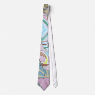 Park Guell mosaics Tie