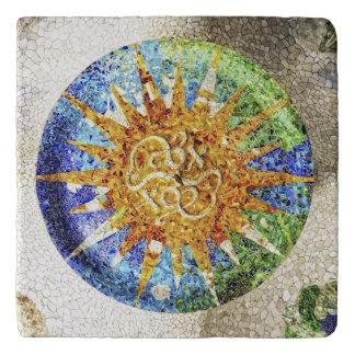 Park Guell mosaics Trivet