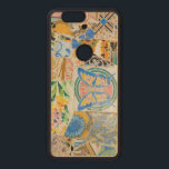 """Park Guell mosaics Wood Nexus 6P Case<br><div class=""""desc"""">Park G&#252;ell in Barcelona,  Spain. One of the best known example of Antoni Gaud&#237; architecture. Color photograph.</div>"""