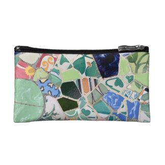 Park Guell mosaics wristlet