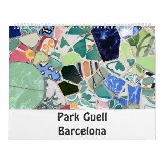 Park Guell Photo Calendar