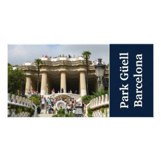 Park Guell Photo Card