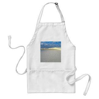 Park Gypsum Sand Dunes White Sands Monum Adult Apron