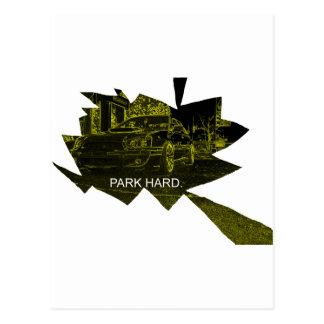 Park Hard Postcard
