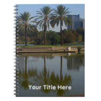 Park HaYarkon, Israel Spiral Notebook
