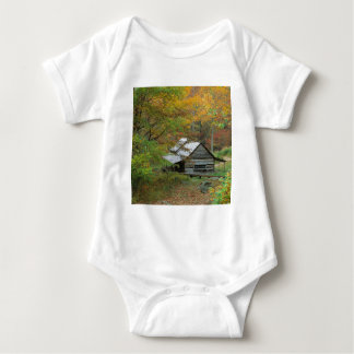 Park Homestead Cabin Ains Tennessee Baby Bodysuit