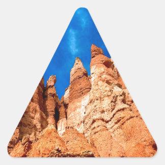 Park Hoodoos Bryce Utah Triangle Sticker
