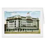 Park Hotel, Great Falls, Montana Greeting Card