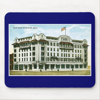 Park Hotel, Great Falls, Montana Mouse Pad