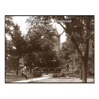 Park in 1930 postcard
