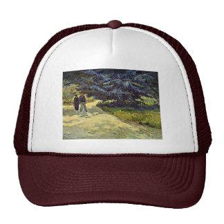 Park In Arles By Vincent Van Gogh Trucker Hat