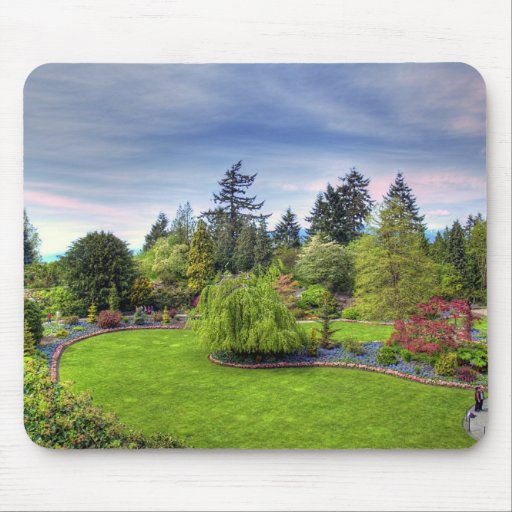 Park in Spring Mouse Mat