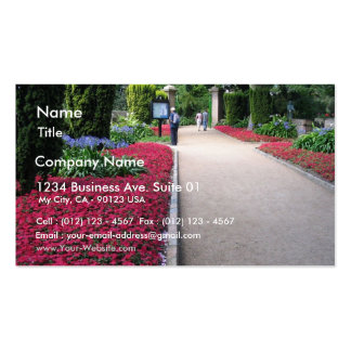 Park In St Helier Jersey Island Business Cards