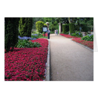 Park In St Helier Jersey Island Greeting Card