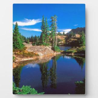 Park Indigo Dreams Rampart Lakes Wenatchee Photo Plaque
