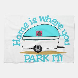 Park It Hand Towel
