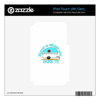 Park It Skins For iPod Touch 4G