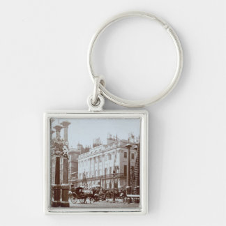 Park Lane being decorated for Queen Victoria's Dia Keychain