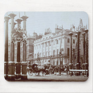 Park Lane being decorated for Queen Victoria's Dia Mouse Pad