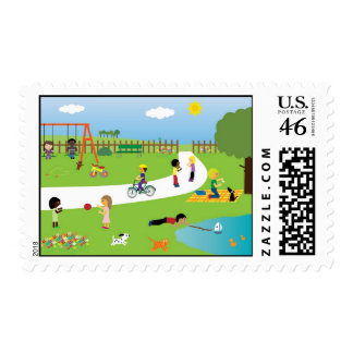 Park Life Stamps