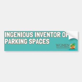 Park like an Islander Bumper Sticker (aqua)
