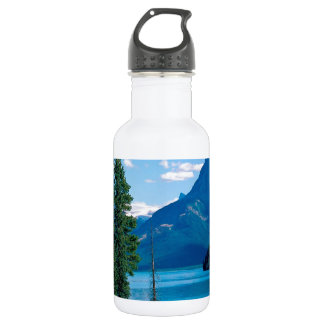 Park Maligne Lake Jasper Alberta Canada 18oz Water Bottle