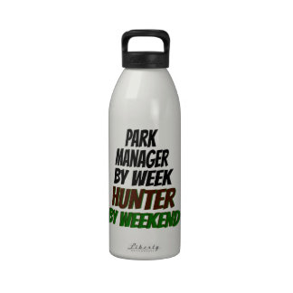 Park Manager Hunter Reusable Water Bottle