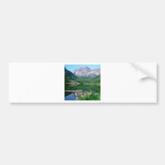 Park Maroon Bells White River Colorado Bumper Sticker